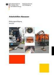 Änderungen_Juni_2012.pdf (5.046 kByte) - Arbeitshilfen Abwasser
