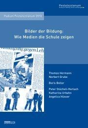 Broschüre Podium Pestalozzianum 2010