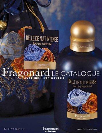 LE CATALOGUE - Fragonard