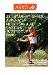 Ausschreibung - Castingsport.de