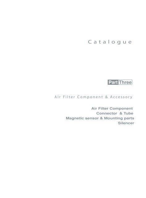 HUATONG Catalogue Part3: Pneumatic Accessories ENGLISH