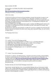 10/09 Oktober 2009 - Bündnis für Politik
