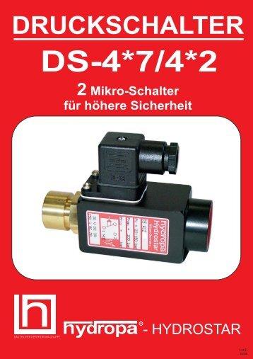 DS-4*7/4*2 Elektro-Anschlüsse - Hydropa GmbH & Cie. KG