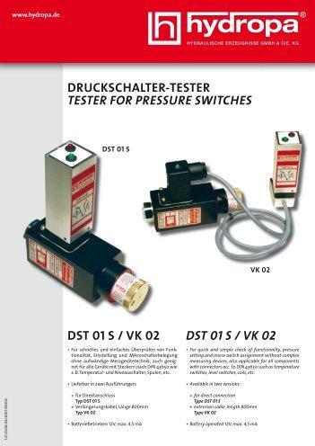 DST 01 S / VK 02 - Hydropa GmbH & Cie. KG