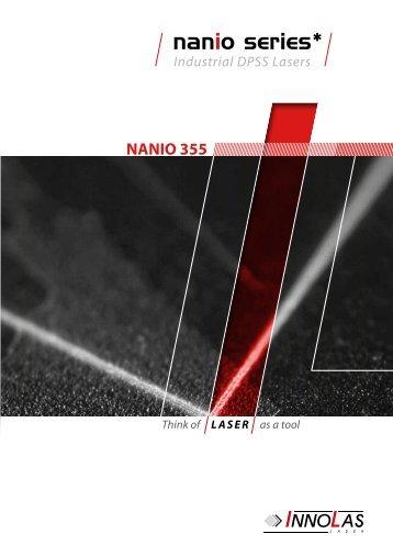 NANIO 355 - InnoLas Laser