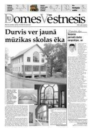 Domes vēstnesis - Madona.lv