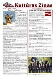Kulturas Zinas Nr 17 - Ogres Kultūras centrs