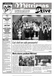 2010. gada marta un aprīļa avīze - Madona.lv
