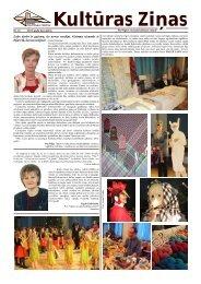 Kulturas zinas Nr 13 - Ogres Kultūras centrs