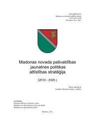 Madonas novada jaunatnes politikas attīstības stratēģija - Madona.lv