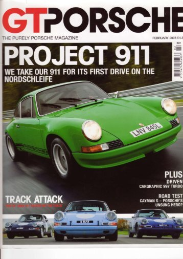 THE PURELY PORSCHE MAGAZINE - Tuthill Porsche
