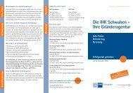 Die IHK Schwaben – Ihre Gründeragentur - A3 Wirtschaftskalender