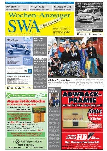 Ausgabe A, Siegen, Wilnsdorf (8.27 MB) - Siegerländer Wochen ...