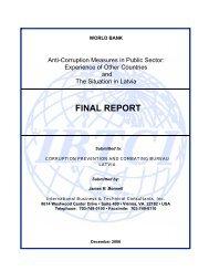 Anti-Corruption Measures in Public Sector - KNAB