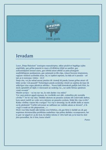 Ievadam - Patnis