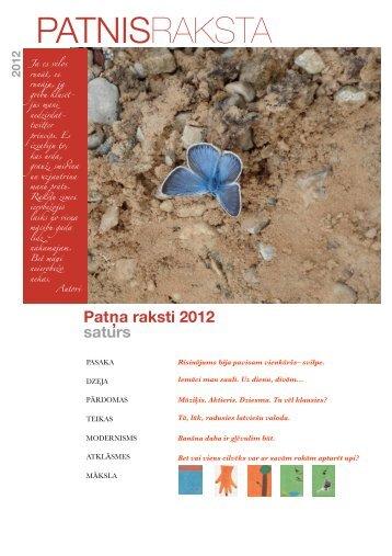 RAKSTI 2012 mlenraksts - Patnis