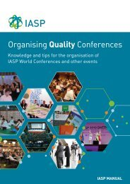 Organising Quality Conferences