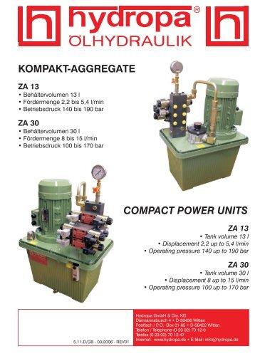 ZA 13 - Hydropa GmbH & Cie. KG