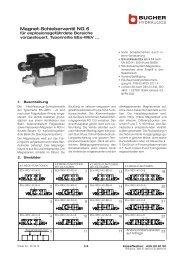 Magnet-Schieberventil NG 6