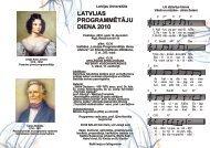 Buklets - Latvijas Universitāte