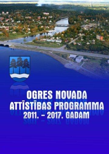 ogres novada attīstības programma 2011. – 2017 ... - Ogres novads