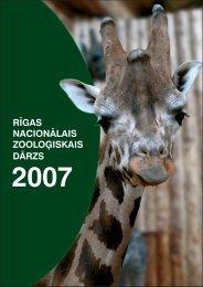PDF 2.84 MB - Rīgas Zooloģiskais Dārzs