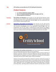 Auditing and Attestation 4 Class Questions 1 1  CPA-02625