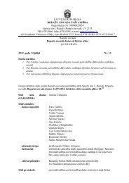 12.jūlija domes ārkārtas sēdes protokols - Ropaži.lv