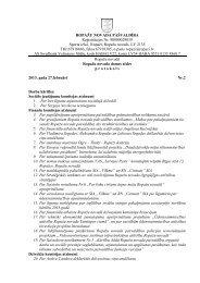 7. februāra domes sēdes protokols - Ropaži.lv