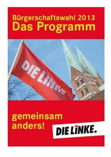 WPGemeinsam anders - DIE LINKE. Kreisverband Lübeck