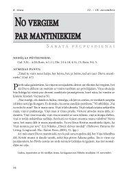 No vergiem par mantiniekiem - RÄ«gas 1. draudze