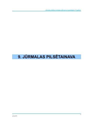 9. JŪRMALAS PILSĒTAINAVA - Grupa93