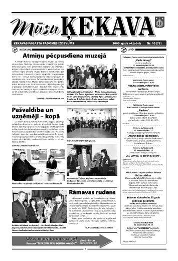 Nr. 10 2005. gada oktobris - Ķekavas pagasts