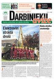 Darbinieku avīze - Latvijas Brīvo Arodbiedrību Savienība