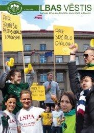 LBAS Vēstis Nr. 146 - Latvijas Brīvo Arodbiedrību Savienība