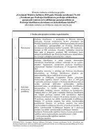 Grozījumi Ministru kabineta 2010.gada 18.maija noteikumos Nr.461 ...