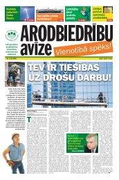 TEV IR TIESĪBAS UZ DROŠU DARBU! - Latvijas Brīvo Arodbiedrību ...