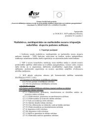 Nolikums - Latvijas Brīvo Arodbiedrību Savienība