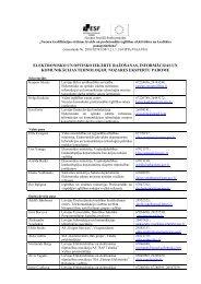 elektronisko un optisko iekārtu raţošanas, informācijas