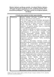 Grozījumi Ministru kabineta 2010.gada 10.augusta noteikumos Nr.749