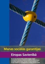 Manas sociālās garantijas ES - Labklājības ministrija