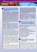 Manas sociālās garantijas ES - Labklājības ministrija - Page 2