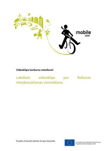 Konkursa noteikumi - Baltijas Vides Forums