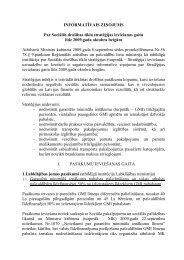 INFORMATĪVAIS ZIŅOJUMS Par Sociālās drošības tīkla stratēģijas ...