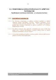 2.2. teritorijas izmantošanas un apbūves noteikumi - Valmiera