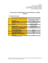 Pielikums. Informācija par kapitālsabiedrību un tās finansālajiem un ...
