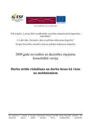 Darba strīdu risināšana un darba tiesas kā viens - Latvijas Brīvo ...
