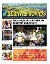 Nr. 9 2011. gada septembris - Ķekavas pagasts