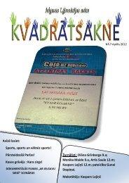 2012.g. aprīlis Nr.7 - Jelgavas 1. ģimnāzija