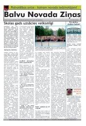 Balvu Novada Ziņas Nr.12 - Balvi